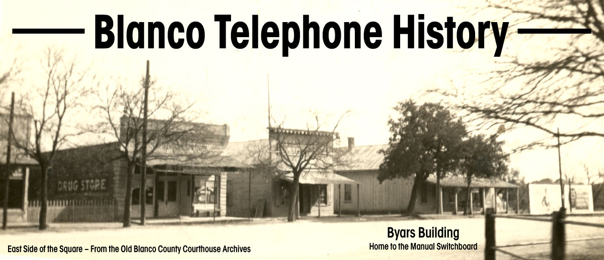 Blanco Telephone History